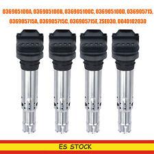 4X Bobina de encendido para Audi VW  POLO SEAT 036905100A 036905100B  036905100C