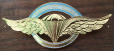 Paratrooper golden Brevet the of Officers with that specialty the Argentine Army