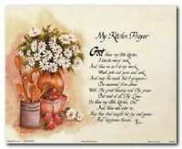 My Kitchen Prayer Wall Decor Art Print Poster (16x20)