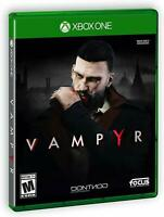 New Vampyr Xbox One (2018) Microsoft Game Video Game Sealed Vampire