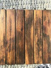 More details for floor / wooden decking tiles - large quantitiy - used