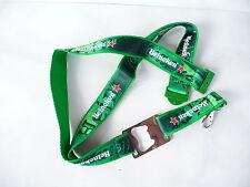 Heineken Neck strap keychain opener beer cap green unused rare star metal