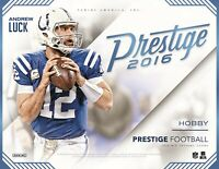 2016 Panini Prestige Football Complete Your Set Pick 25 Cards From List