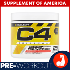 """C4 Original STRONG PRE-Workout 25 Servings Exp.2022 """"FREE SHIPPING"""""""