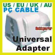 PC Cable type Universal UK/US/EU/AU Travel Power Adapter