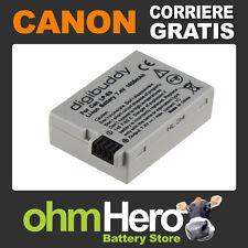 Batteria Alta Qualità SOSTITUISCE Canon LPE8, LP-E8