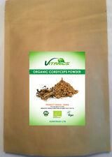 Certified Organic Cordyceps Powder 100g