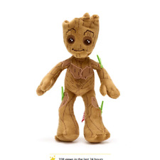 "BNWT Shop Disney Store 9"" Soft Plush GROOT Guardians of the Galaxy Bean Bag Toy"