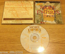 MORE EMPIRES 1 EXPANSION PACK FOR AGE  OF EMPIRES 1 JEWEL CASED VERSION for PC