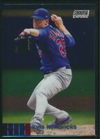 2020 Topps Stadium Club Chrome #85 Kyle Hendricks Chicago Cubs