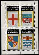 GB Locals - Bernera (1107) 1981 HERALDRY perf sheetlet unmounted mint