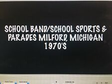 DVD of 8mm Film Milford, Michigan Parades/School Band/School Sports - 1970's