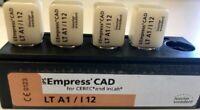 4 -IVOCLAR VIVADENT IPS EMPRESS CAD (LT A1/ I12)- Opened Package