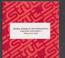 MULATU ASTATKE & THE HELIOCENTICS Inspiration Information 3 2TR PROMO CD Masenqo
