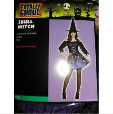 New Skull Witch Teen Girl's Costume One Size Nwt - Free Shipping 2