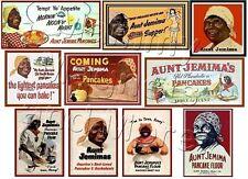 TEN MAGNETS - Aunt Jemima Pancake Vintage Labels - Ship FREE