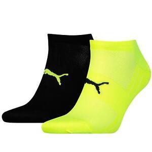 PUMA Sports Socks Performance Trainer Light Running Gym Sneakers (2 Pair Packs)