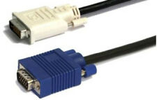 10 ft DVI to VGA DVI-A to SVGA 10' Foot PC Video Cord by BattleBorn Cable - NEW
