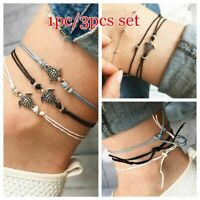 Bohemian Bracelet Sandal Beach Jewelry Anklet Turtle Pendant Foot Chains