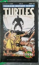 Teenage Mutant Ninja Turtles City at War issue 55 January 1993 Mirage Studios