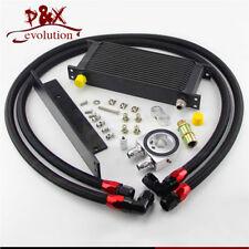 16 Row Bolt On Oil Cooler Kit Fit Nissan 03-08 350z Fairlady 09-14 370z BK