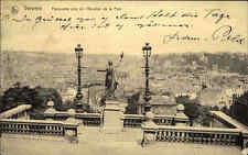 Verviers Belgien s/w AK 1914 frankiert Panorama pris de l'Escalier de la Paix