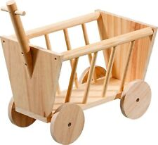 Karlie Wooden Hay Rack Handcart 29x19x21 cm