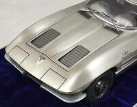 1963 Corvette Chevrolet Sport Car Race Vintage 1 12 Carousel Pewter 18 Metal 24