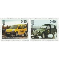 Luxembourg 2013 - Europa 2013: Postal Vehicles Car Truck - MNH