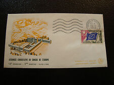 FRANCE - enveloppe 14/1/1963 yt service n° 28 (cy19) french