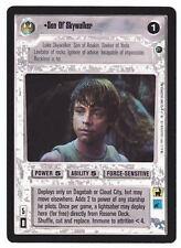 SWCCG Star Wars CCG • Son of Skywalker Luke Jedi Knight • DAGOBAH • RARE