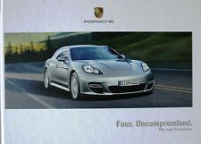 Porsche; Panamera, Sales Brochure