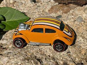 Vintage Hot Wheels Redline Custom Volkswagen Flying Colors Alt Stripes Variation