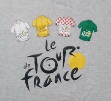 Tour De France Jersey t shirt L bike bicycle race official license merchandise