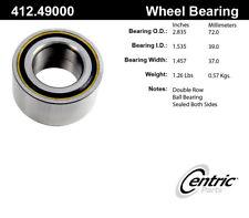 Wheel Bearing-1.9i Rear,Front Centric 412.49000E