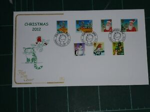 GB STAMPS 1st DAY COVER CHRISTMAS 2012