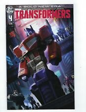 Transformers # 4 Cover A NM IDW