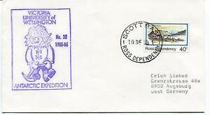 1985 Victoria University of Wellington Antarctic Expedition Polar Cover