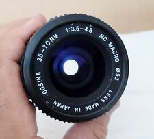 PENTAX K MOUNT 35-70MM 1:3.5-4.8 MC MACRO ZOOM LENS MADE BY COSINA/JAPAN NICE!!