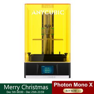 ANYCUBIC 4K LCD Photon Mono X Imprimante 3D 405nm UV Résine 192*120*245mm