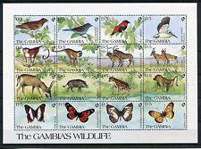 Gambia 1145/60 Kleinbogen postfrisch / Tiere .............................1/3123
