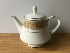 Vintage 1970s Noritake Autumn Time 2258 2 Pint Teapot Tea Pot