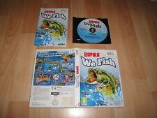 RAPALA WE FISH RVL-R0JP-ESP1T2 JUEGO DE PESCA PARA LA NINTENDO Wii BUEN ESTADO