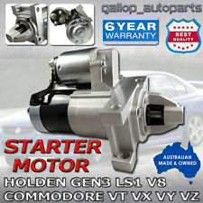 FOR HOLDEN GEN 3 LS1 V8 STARTER MOTOR COMMODORE MONARO VT VX VY VZ SS CALAIS