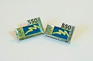 OLYMPIC GAMES COLLECTABLE PINS SYDNEY 2000 550 DAYS TO GO 1/3000  2X PINS RARE