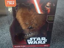 "Star Wars 15"" Inch Talking Plush Chewbacca With Original Movie Sounds Disney"