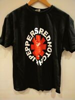 2016 Red Hot Chili Peppers T Shirt The Getaway Tour Black Size L Large