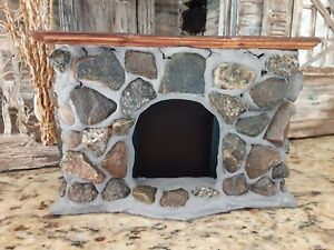 Dollhouse Colonial Style Fireplace