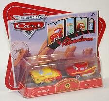 Disney PIXAR Cars Mini Adventures Radiator Springs Fire Department RAMONE & FLO