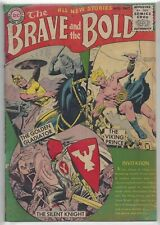 The Brave and the Bold #1 1955 Viking Prince Golden Gladiator Silent Knight Nice